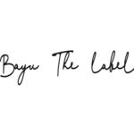 logo bayu the label