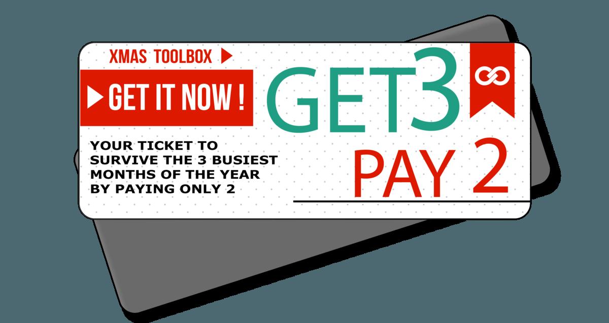 xmas toolbox ticket